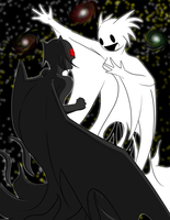 Nox Telling Redeye a Story by swiblet