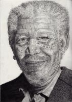 Morgan Freeman by amy155