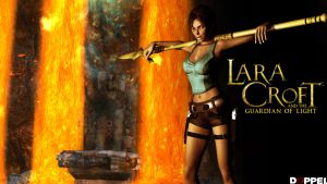 Lara Croft an The Guardian Of Light: 1 player by doppeL-zgz