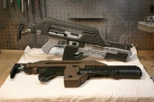 M41A pulse rifle prototype by Matsucorp