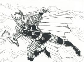 THOR COMMISSION by FanBoy67