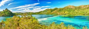 Snake island panorama by MotHaiBaPhoto