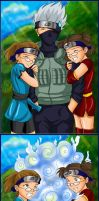 Lori and Susi Love Kakashi by irishgirl982