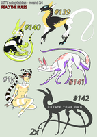 CLOSED//MTT adoptables - round 24 by annicron