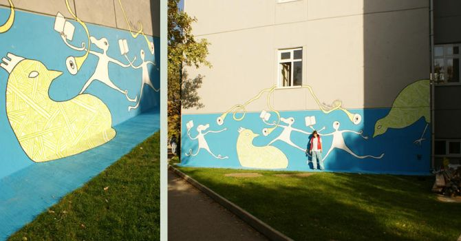 elastics-cam---wallpainting by e-keen