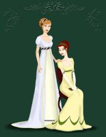 The Bennet Sisters by kait-wraith
