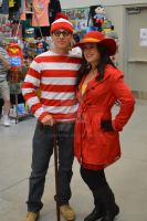 Waldo and Carmen Sandiego by D-Anthonie