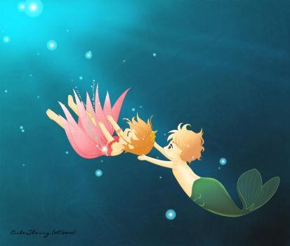 Little Merman by CuteSherry