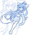 Dancing In the Wind WIP by ValentineBites