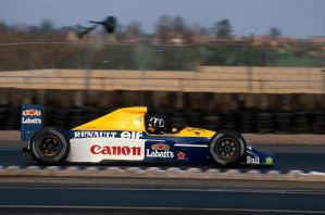 Damon Hill (Great Britain Test 1991) by F1-history