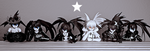 Black Rock Shooter Family (updated) by Solastyre
