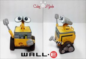 Wall-E from Disney by CakeSake