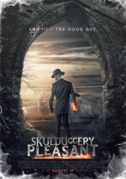 Skulduggery Pleasant Movie Poster by SkinnyGlasses