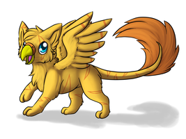 Hatched Cute Gryphon Egg for Scaleon1 by starscreamfan10100