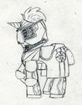 And Yet Another Armored Pony by Ovni-the-UFO