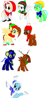 MORE FREAKAGIN XMAS ADOPTS!!!Veiw desc. by JinxXTX