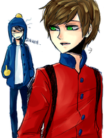 South Park : Clyde x Craig by sujk0823