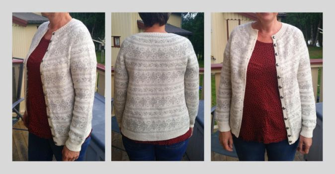 Fair Favang fair-isle cardigan by KnitLizzy
