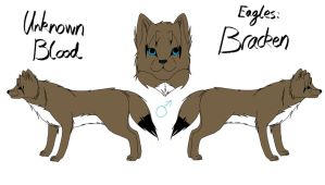 Unknown Blood - Bracken Reference by fluffylovey