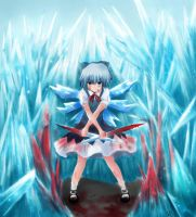 Cirno The Strongest -Form- by Kana-Kei