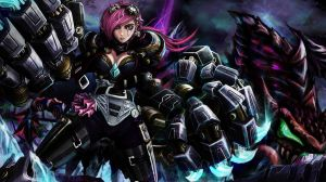 Vi and Iceborn Gauntlet by takabubu