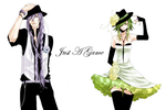 MMD Request Gumi + Gakupo Just A Game by SupaBaka