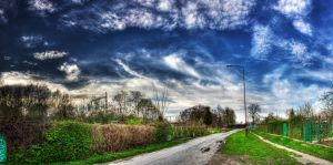 Street Panorama I by Athrian