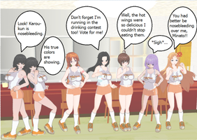 Sekirei Girls Hooters Outfit by quamp