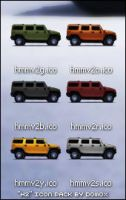 H2 Icons by dylanrw