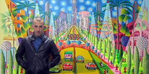 assaf henigsberg  naive paintings naife artworks by shharc