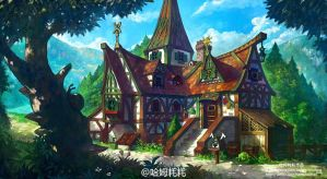 fantasy house design by phoenix-feng