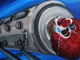 SadCryingClown in an Iron Lung by Arctic-Sekai