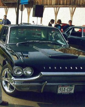 [1964] Ford Thunderbird (Customized) by DODGE-RAMMIT