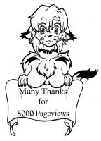 5000 Pageviews by N8-11