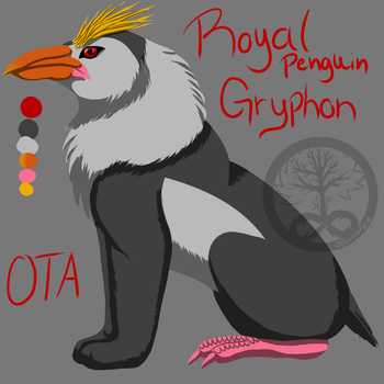 OPEN :OTA: Gryphon Adoptable by RowanFyre