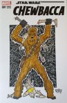 Chewbacca Sketch Cover-SOLD by GordZee