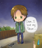 Sammy lost his shoe by focaccina