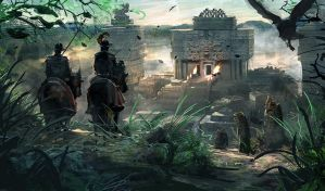 Conquistadors II by RhysGriffiths