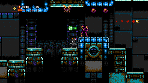 Cyber Shadow - Tileset - Disposal facility by huzba