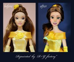 Belle OOAK doll by RYfactory