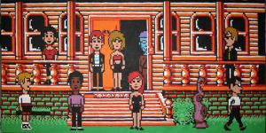 Maniac Mansion Madness! by Squarepainter