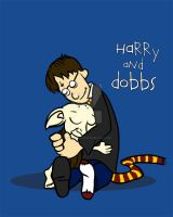 Harry and Dobbs by spacemonkeydr