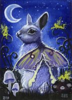 ACEO - Luminous Night by DawnUnicorn