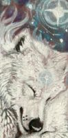 Star Wolves bookmark by wolf-minori