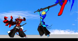 nol ragna vs future ragna by singfried