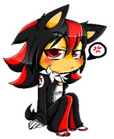 Pixel Chibi Shadow by TheUltimateHedgehog