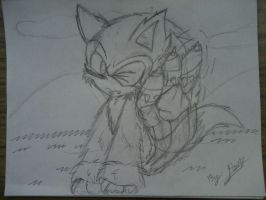 Sonic Werehog - Itching  D= by SonicTHW93