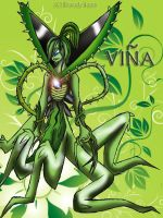 VINA-FEMALE WILDVINE COLORED by TheDocRoach