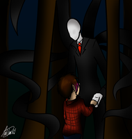 Slenderman Will Take Me... by InvaderSonicMx