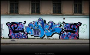 OLD SCHOOL by The-Kiwie